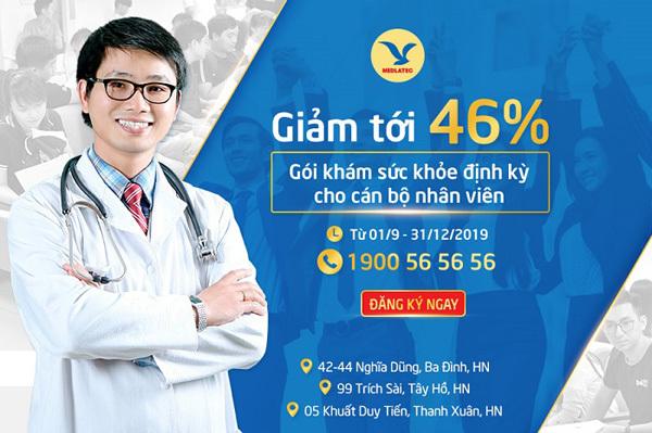 Khám sức khỏe định kỳ cho nhân viên: Cơ hội cuối nhận ưu đãi tới 46%