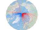 Cực từ Trái Đất di chuyển về phía Nga với tốc độ nhanh kỷ lục