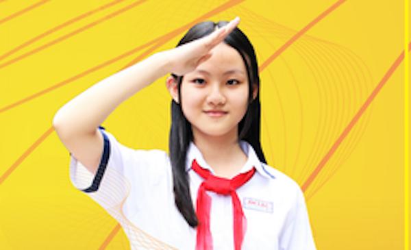 Học sinh 14 tuổi là công dân trẻ tiêu biểu của thành phố gần 9 triệu người