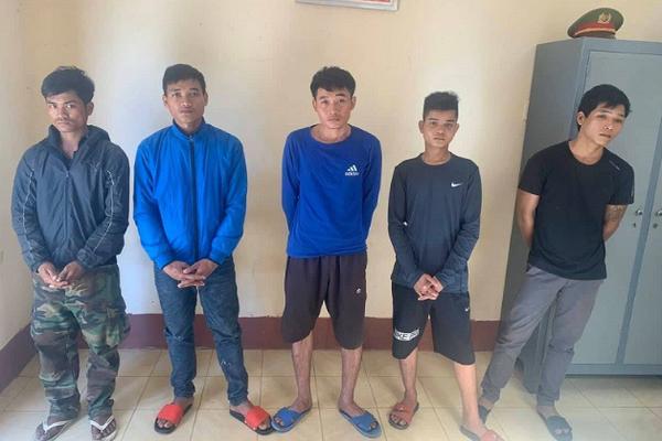 Bắt 5 lâm tặc vây chém kiểm lâm Vườn quốc gia ở Đắk Lắk