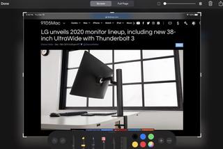 Cách chụp và chỉnh sửa ảnh màn hình iPad bằng Apple Pencil