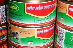 'Đặc sản thịt chó' đóng hộp từng được sản xuất để xuất khẩu