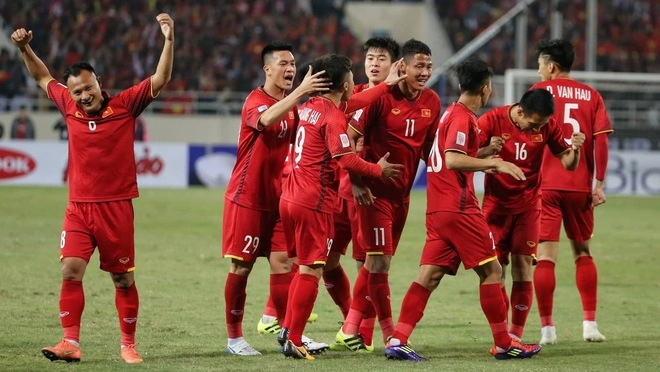 Vietnam wrap up 2019 with record high position in FIFA rankings