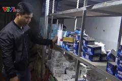 Triệt phá đường dây sản xuất hàng giả Made in Vietnam