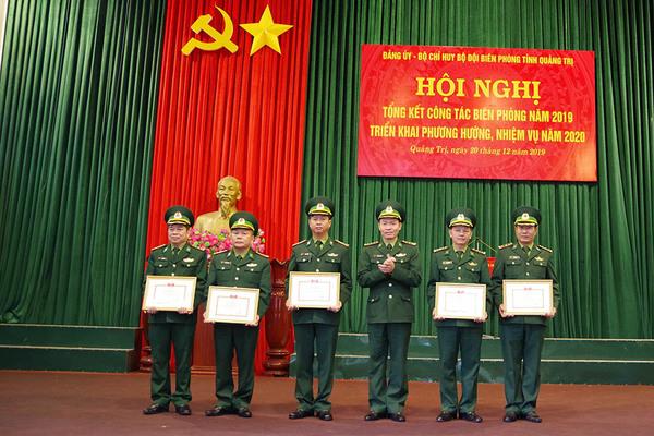 Bộ đội Biên phòng Quảng Trị phát động phong trào thi đua quyết thắng năm 2020