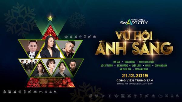 Dàn sao Việt 'đốt cháy' Vũ Hội Ánh Sáng ở Vinhomes Smart City
