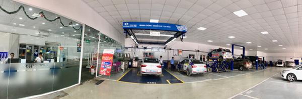 Trải nghiệm dịch vụ tại Hyundai Đông Anh