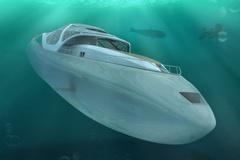 Khám phá siêu du thuyền có thể biến thành tàu ngầm