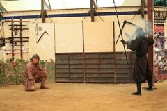 Ngôi làng tái hiện cuộc sống của các ninja và samurai