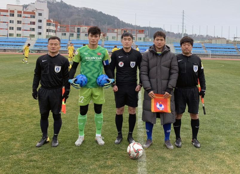 Bùi Tiến Dũng bắt chính, U23 Việt Nam thắng đội Hàn Quốc