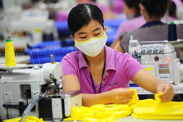 Công nghiệp hỗ trợ trong ngành dệt may Việt Nam vẫn nan giải
