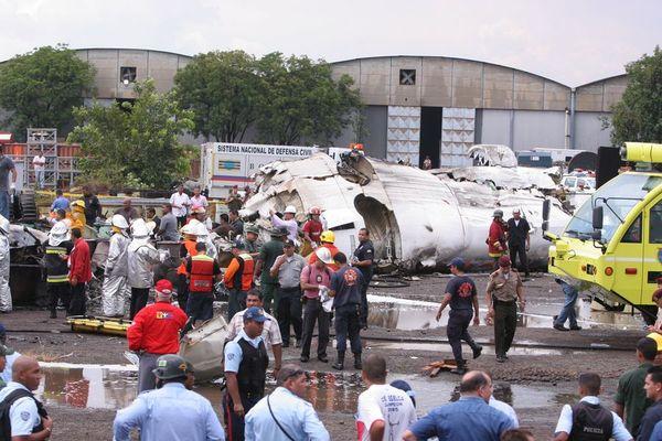 Rơi máy bay ở Venezuela