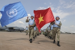 Military doctor takes pride in UN peacekeeping mission