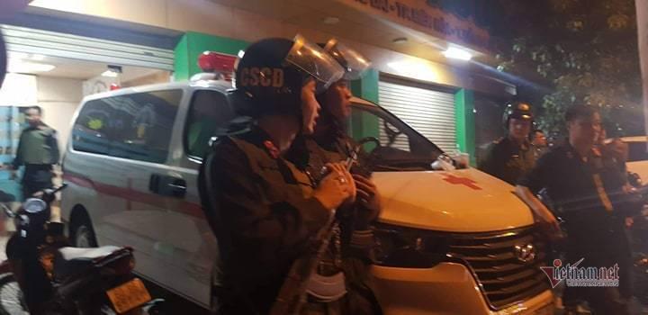 Đồng Nai: Hàng trăm cảnh sát trang bị súng bao vây bệnh viện - ảnh 2