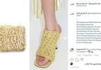 Đôi giày giống mỳ tôm khiến dân mạng đòi thêm gia vị