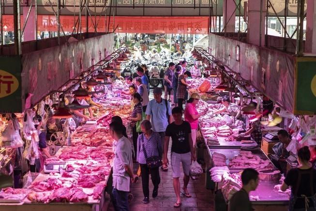 Chuyện lạ thời nay, gửi tiết kiệm được ngân hàng tặng cân thịt lợn