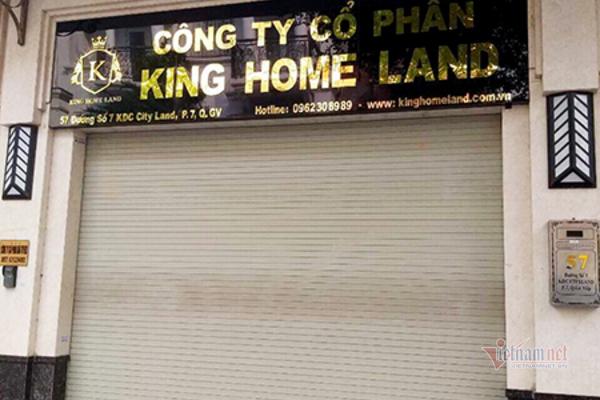 """Khách hàng căng băng rôn """"tố"""" Công ty King Home Land vẽ dự án """"ma"""" lừa đảo"""