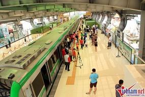 Lãnh đạo Cục 6 đường sắt Trung Quốc chỉ đạo vận hành đường sắt Cát Linh - Hà Đông