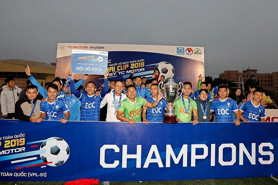 Thành Lương toả sáng, EOC lên ngôi vô địch VPL S1