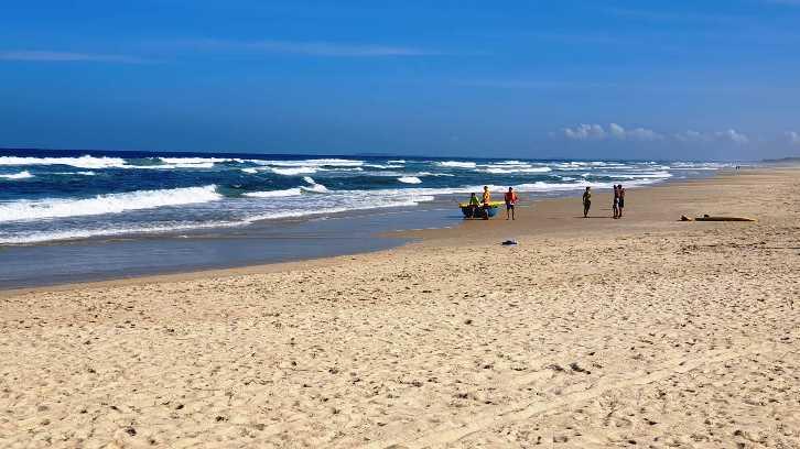 Tìm thấy thi thể du khách Anh sau 1 ngày tìm kiếm trên biển Quảng Nam