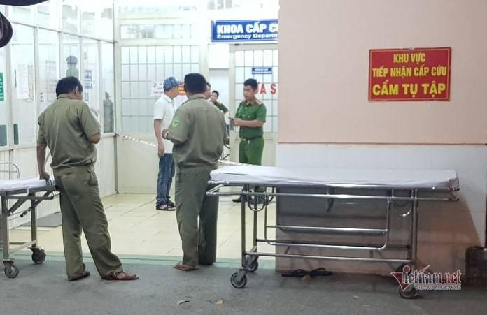 Bệnh nhân nghi nổ súng tự sát trong bệnh viện ở Sài Gòn