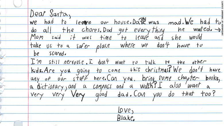 """Bức thư xin ông già Noel """"một người cha tốt"""" của cậu bé 7 tuổi"""