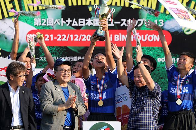 Giải U13 quốc tế Việt Nam – Nhật Bản 2019: Chủ nhà toàn thắng