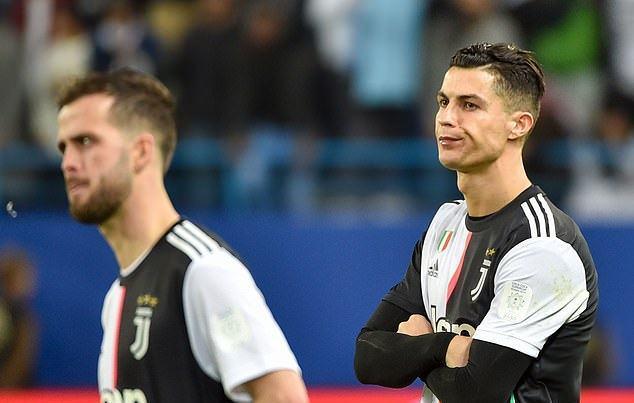 Ronaldo vô duyên, Juventus thảm bại trận tranh Siêu Cúp Italia