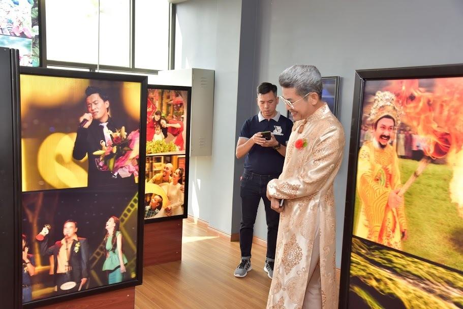 Sao Việt trong triển lãm ảnh 3D của nghệ sĩ Thái Ngọc Sơn và Lữ Đắc Long