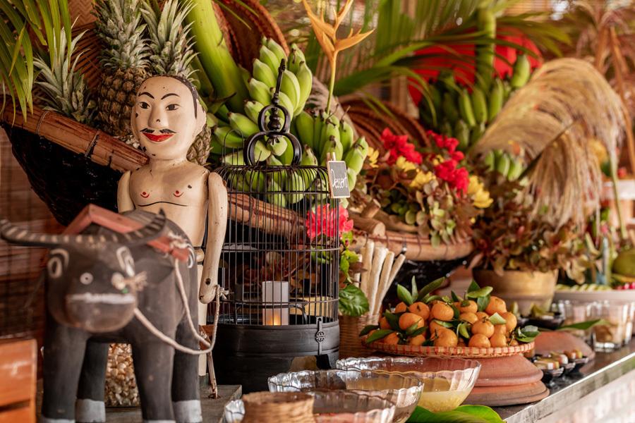 Trải nghiệm ẩm thực 'Hà Nội phố' trong không gian làng quê