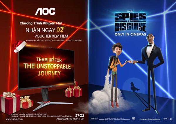 AOC 'bắt tay' Disney ra mắt phim 'Điệp viên ẩn danh'