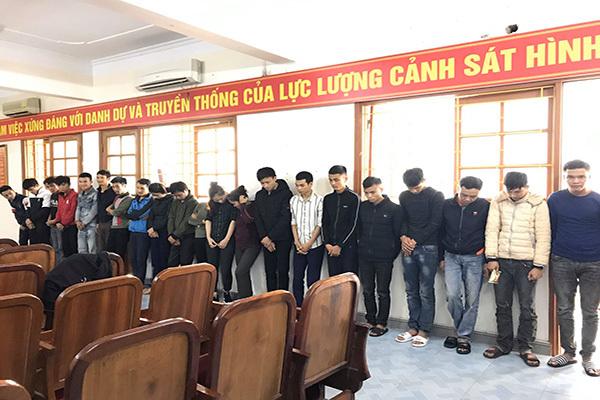Hà Tĩnh bắt 24 đối tượng giả nhân viên ngân hàng, CSGT để lừa đảo