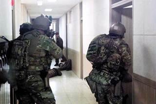 Mỹ công bố hình ảnh hiếm diễn tập với đặc nhiệm Hàn