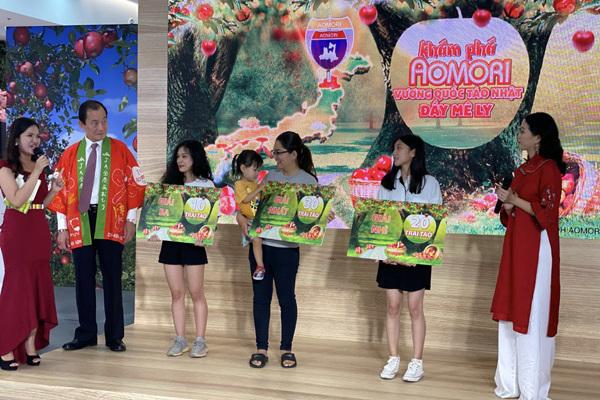 Táo Aomori chính vụ lên kệ siêu thị Việt