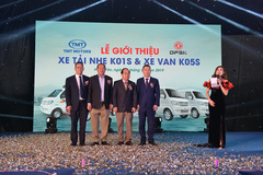 TMT Motors ra mắt xe tải nhẹ K01S, xe van K05S