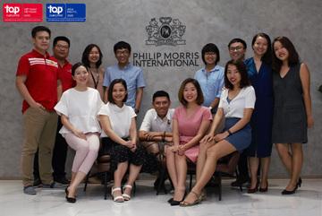 Philip Morris International - 'Nhà tuyển dụng hàng đầu toàn cầu'