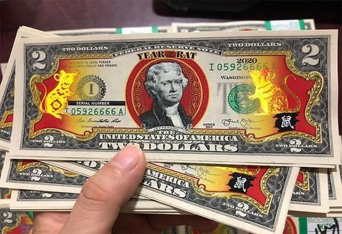 Thực hư tiền 2 USD hình chuột được quảng cáo do Mỹ phát hành?