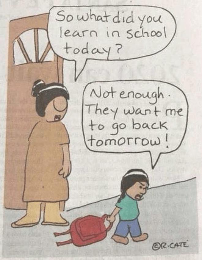 Người tạo ra ảnh chế 'Đi đâu đó: 'Tôi thích nói về trường học'