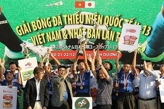 Becamex Binh Duong FC secure win in Vietnam-Japan U13 football tournament
