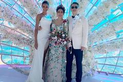 Vợ cũ 'ông trùm' showbiz Việt tái hôn, đám cưới sang chảnh ở Phú Quốc
