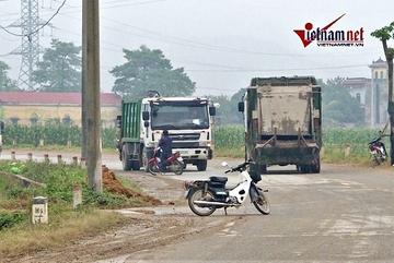 Bãi rác Nam Sơn lại bị chặn, nội đô đối mặt nguy cơ ùn ứ rác