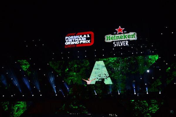 Heineken - thương hiệu bia chính thức chặng đua F1 Việt Nam