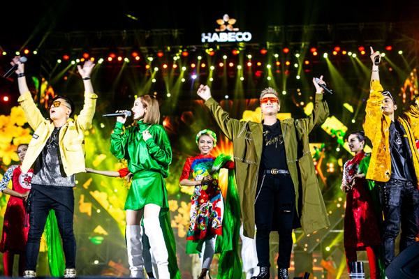 Countdown Party - sự kiện chào đón năm mới được mong chờ của bia Hà Nội