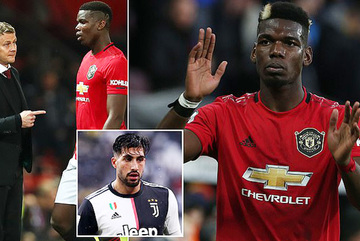 Sốt dẻo Pogba trở lại Juventus, MU lấy Emre Can