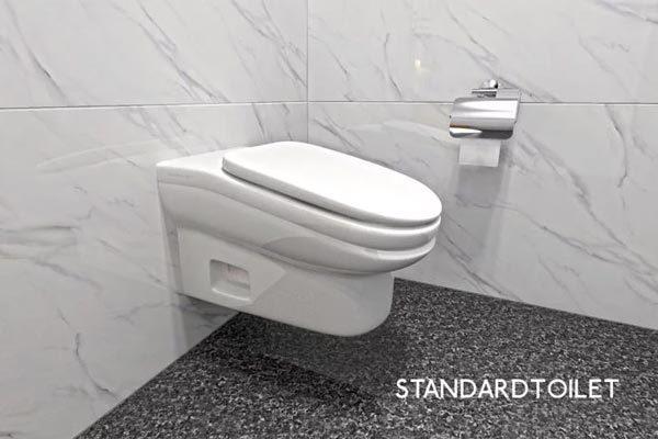 Độc chiêu ngăn dân công sở ngồi lâu trong nhà vệ sinh