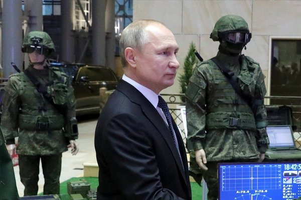 Putin tuyên bố 'Nga đứng đầu thế giới về vũ khí siêu thanh'
