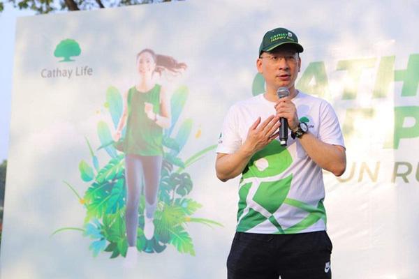 Nhân viên Cathay Việt Nam cùng tham gia 'đường chạy hạnh phúc'