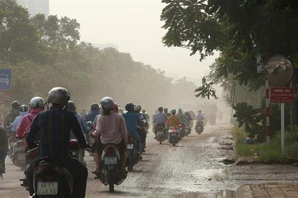Hanoi,air pollution,fog,Vietnam environment