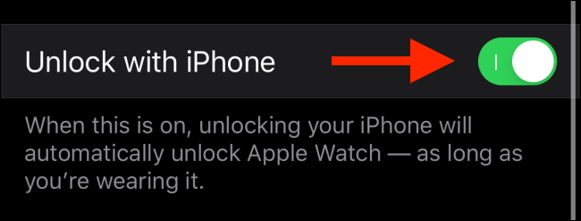 Cách mở khóa Apple Watch bằng iPhone