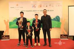 Đoàn Uy vô địch giải MyTV Hanoi Junior Golf Tour 2019